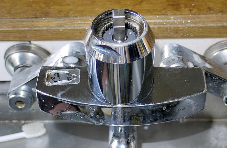 台所の混合栓、TOTO-TKG30URXが水漏れ30.jpg