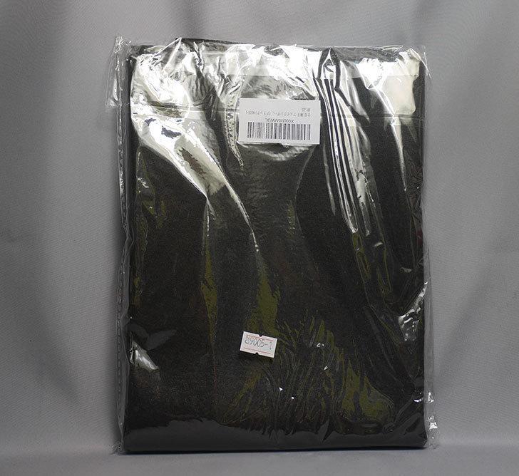 合皮-薄手-フェイクレザー-生地-138×50cm-(ブラック)-9005-1-をバランスチェアの修理用に買った2.jpg