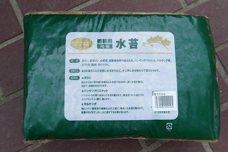 園芸用-水苔-500gをカインズで買ってきた2.jpg