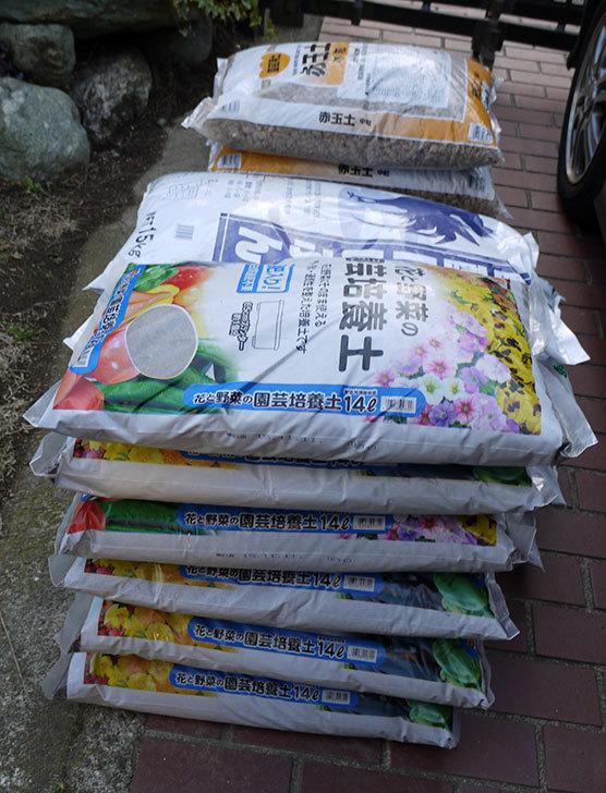 土と肥料をケイヨーデイツーで買って来た。2016年-2.jpg