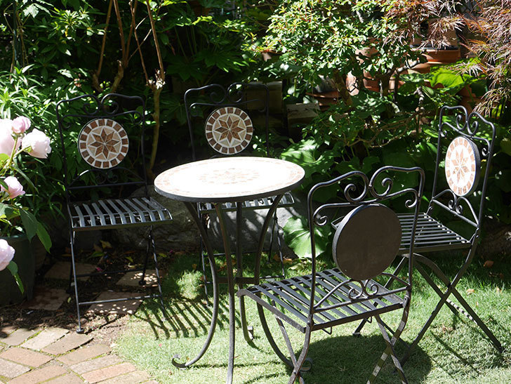 山善 ガーデンマスター モザイクチェア2脚組 HMC-87を買った-011.jpg
