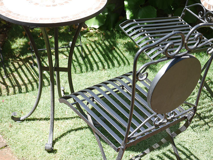 山善 ガーデンマスター モザイクチェア2脚組 HMC-87を買った-014.jpg