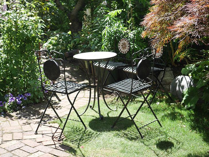 山善 ガーデンマスター モザイクチェア2脚組 HMC-87を買った-018.jpg