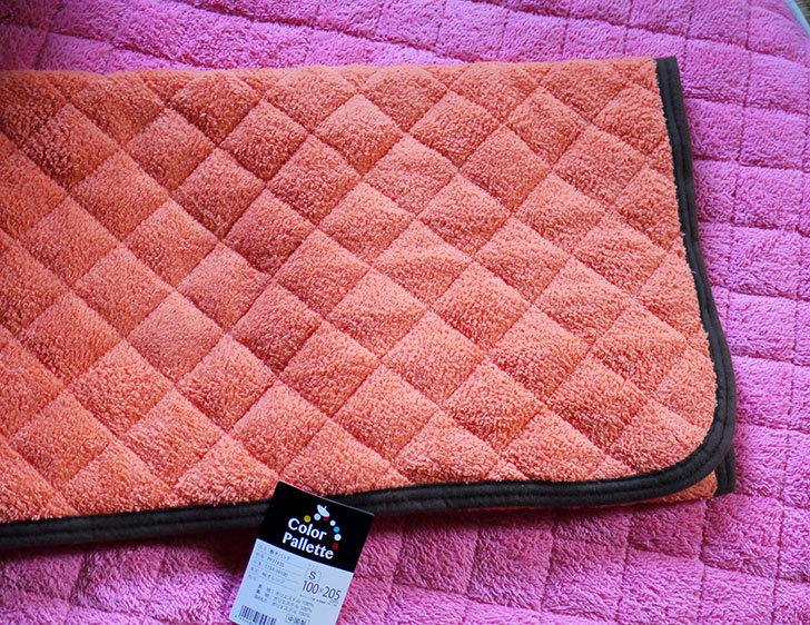 敷き-パッド-カラーパレット-PP3733-シングル-オレンジ-1734-39100を買った4.jpg