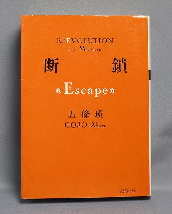 断鎖(Escape)-五條-瑛-(著)-を買った1.jpg