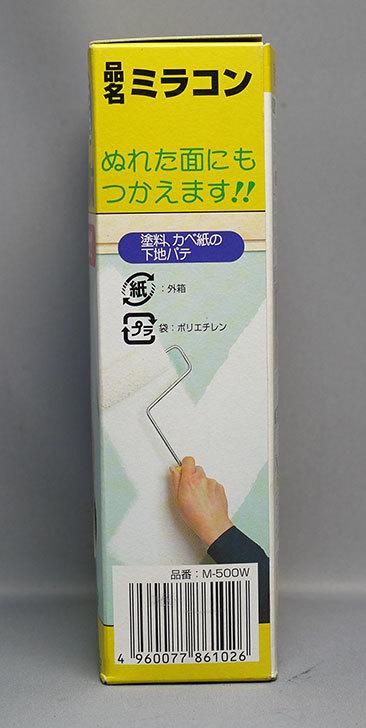 日本ミラコン産業-カベ・穴うめ補修材-ミラコン-白-500g-M-500Wを買った3.jpg