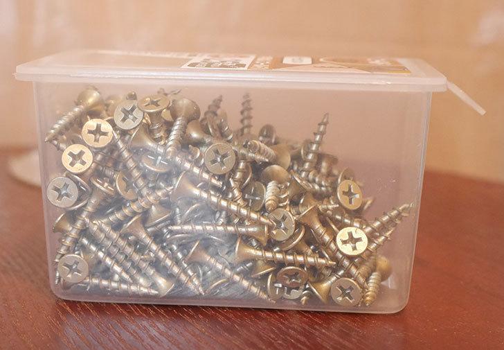木用ネジ(ゴールド)3.8×25mmをケイヨーデイツーで買って来た2.jpg