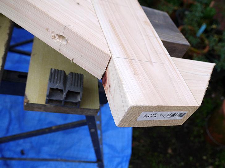 木製の物干し台制作2-15.jpg