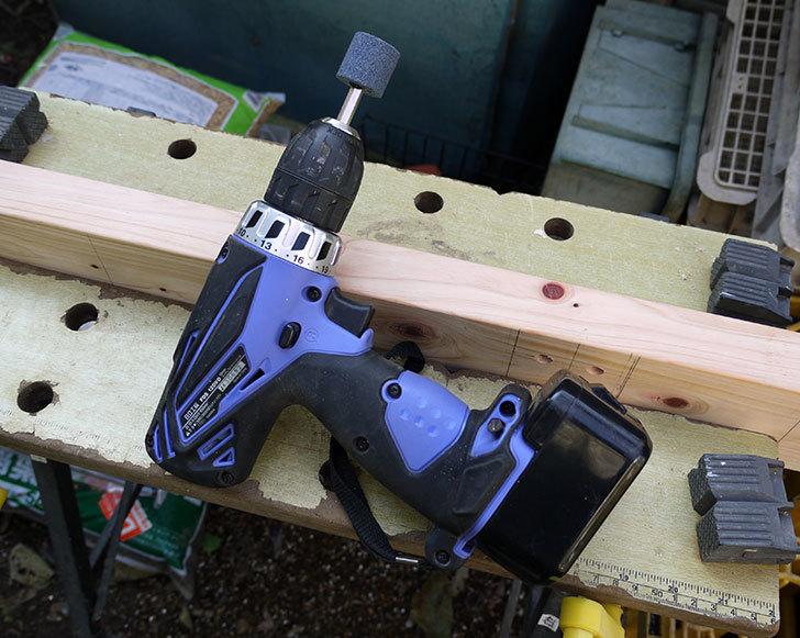 木製の物干し台制作2-4.jpg