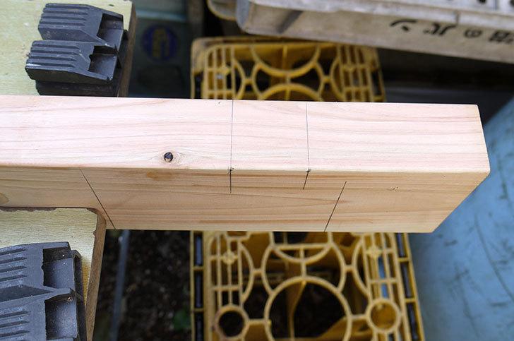 木製の物干し台制作2-5.jpg