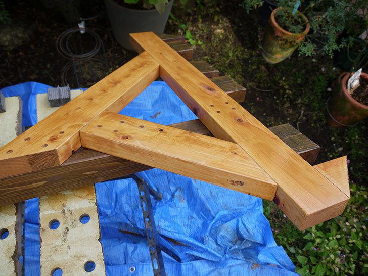 木製の物干し台制作3-3.jpg