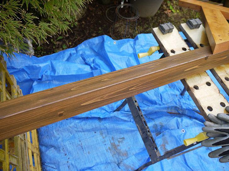 木製の物干し台制作3-6.jpg