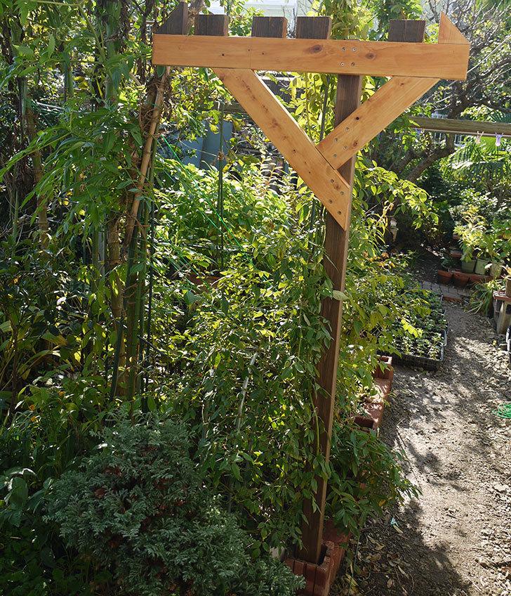 木製の物干し台制作4-14.jpg