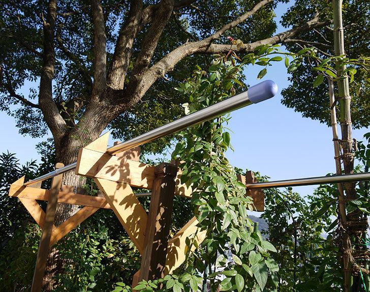 木製の物干し台制作4-15.jpg