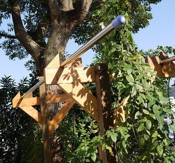 木製の物干し台制作4-16.jpg