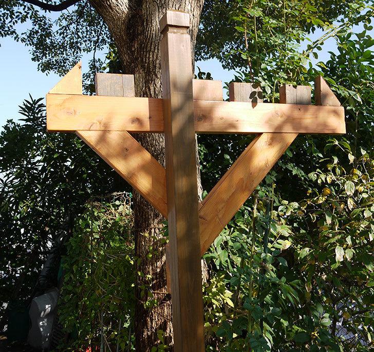 木製の物干し台制作4-7.jpg