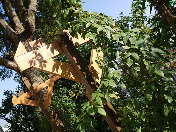 木製の物干し台制作4-9.jpg