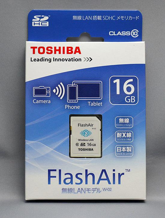 東芝-FlashAir-SD-WC016Gを買った1.jpg