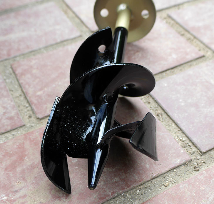 浅香工業-金象印-Wらせん穴掘りSD-75をバラの寒肥作業用に買った1.jpg