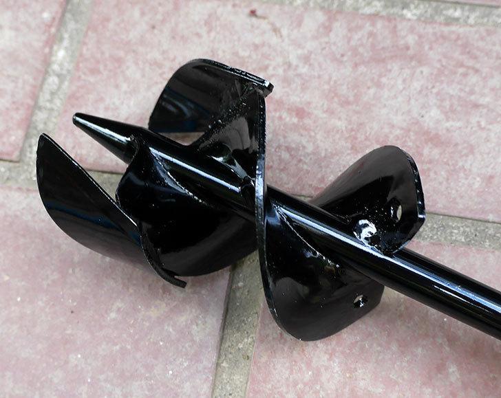 浅香工業-金象印-Wらせん穴掘りSD-75をバラの寒肥作業用に買った5.jpg