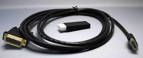 玄人志向 DisplayPortI変換コネクタ DP-HDMI2 2.jpg