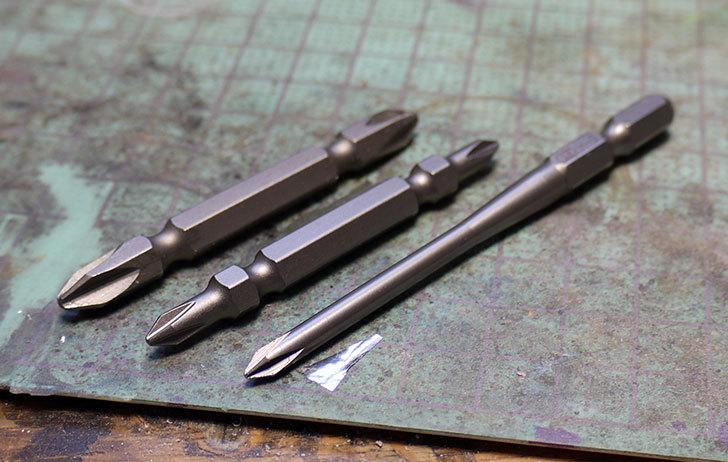 精密小ネジ用ビット-プラス0×85mm-2本入-H-085を買った3.jpg