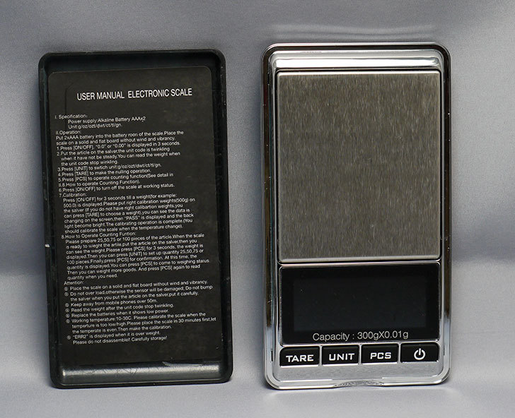 精密計量秤0.01g-300g-PCS電子計量器はかりスケールを買った4.jpg