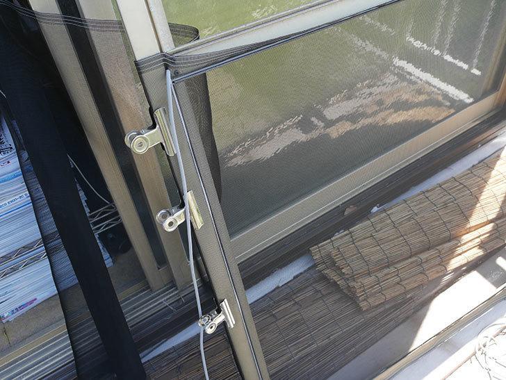 網戸が破れたの黒いネットに張り替えた14.jpg