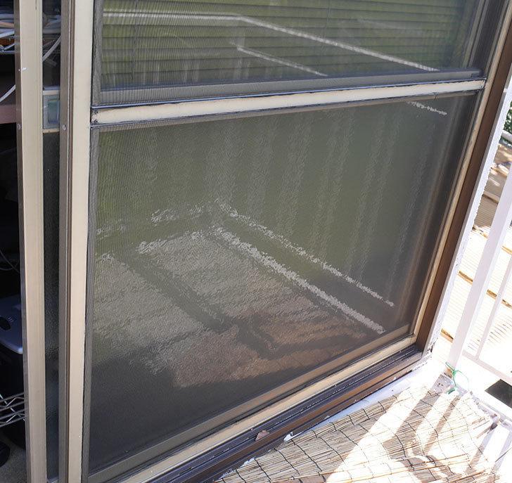 網戸が破れたの黒いネットに張り替えた25.jpg