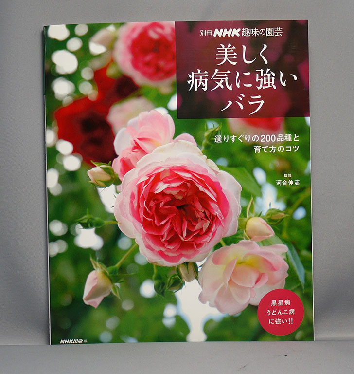 美しく病気に強いバラ―選りすぐりの200品種と育て方のコツ-(別冊NHK趣味の園芸)を買った1.jpg