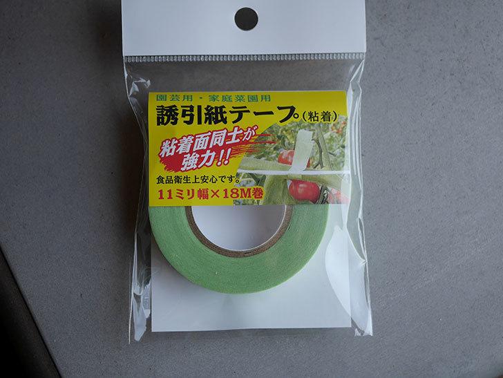 誘引紙テープ 11mm×18mを買った-001.jpg