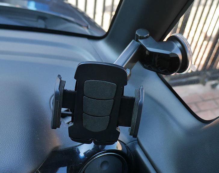 車載ホルダー-ゲル吸盤式-エアコン吹き出し口取り付け-2in1-伸縮アームを買った11.jpg