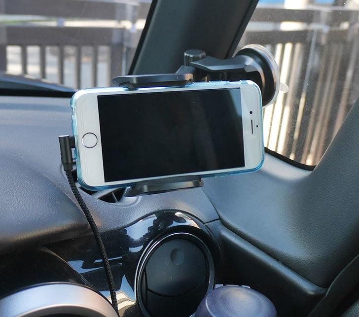 車載ホルダー-ゲル吸盤式-エアコン吹き出し口取り付け-2in1-伸縮アームを買った14.jpg