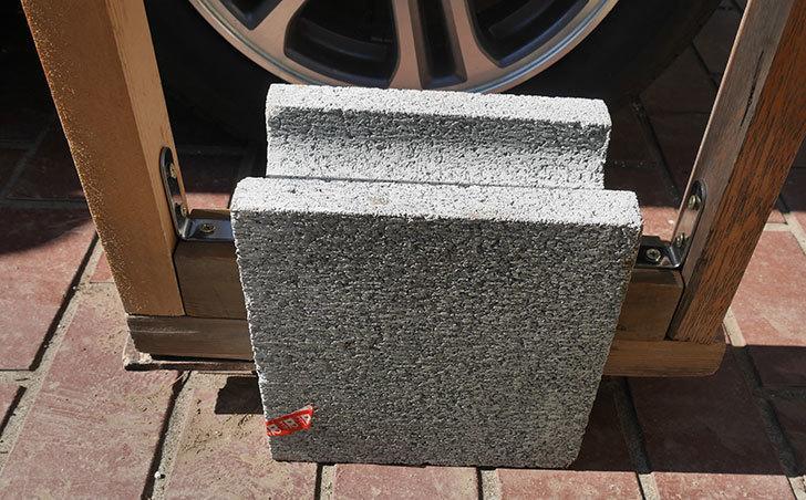 重量半ブロックと角材で転圧機を自作した7.jpg