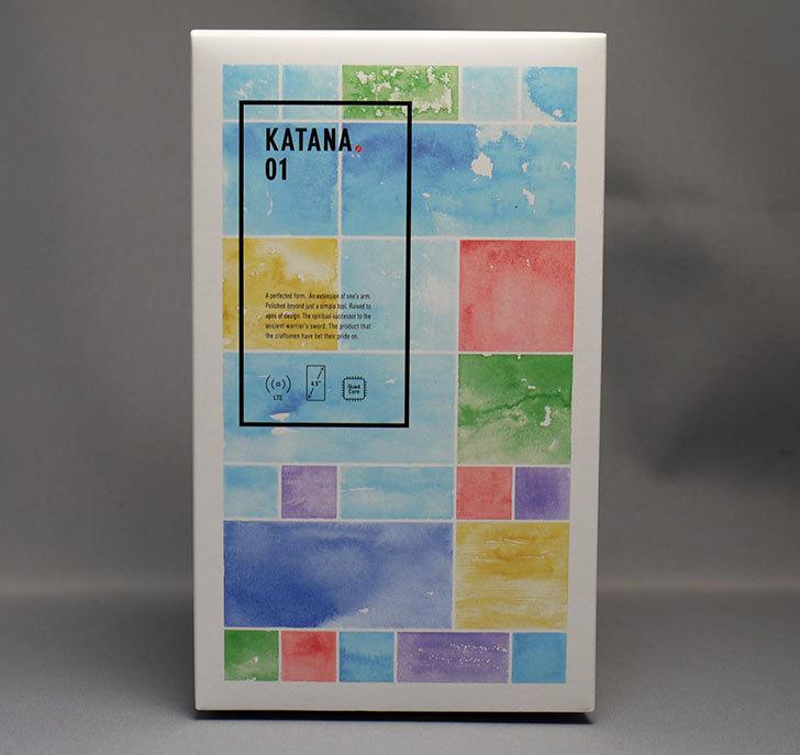 FREETEL-KATANA-01-FTJ152E-katana01をNTT-X-Storeで買った1.jpg