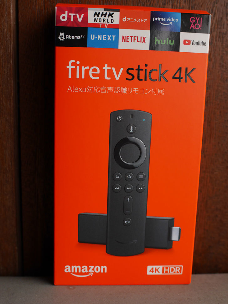 Fire TV Stick 4Kを「プライムデー」で買った。2020年-001.jpg