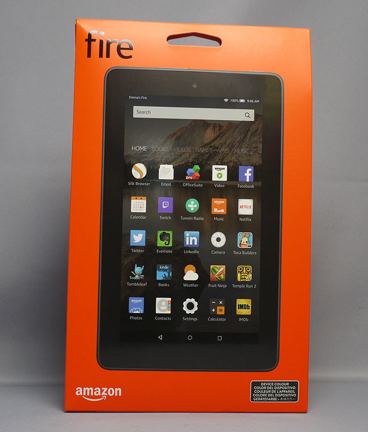 Fire(2015)タブレット-8GB、ブラックが届いた1.jpg