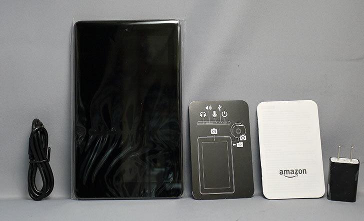 Fire(2015)タブレット-8GB、ブラックが届いた4.jpg