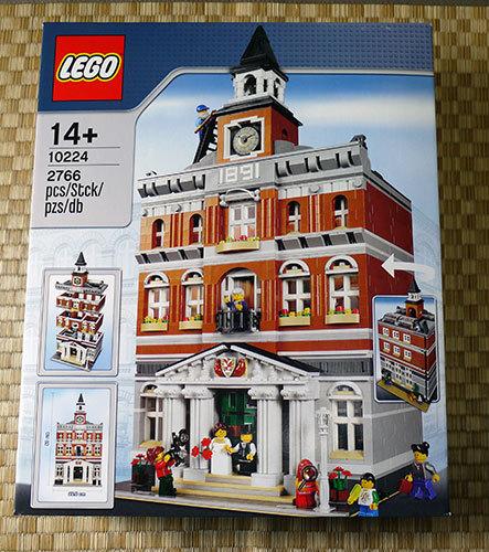 LEGO-10224-タウンホールを作り始めた1-1.jpg