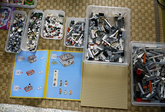 LEGO-10224-タウンホールを作り始めた1-4.jpg