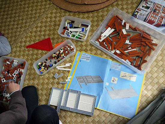 LEGO-10224-タウンホールを作り始めた2-2.jpg