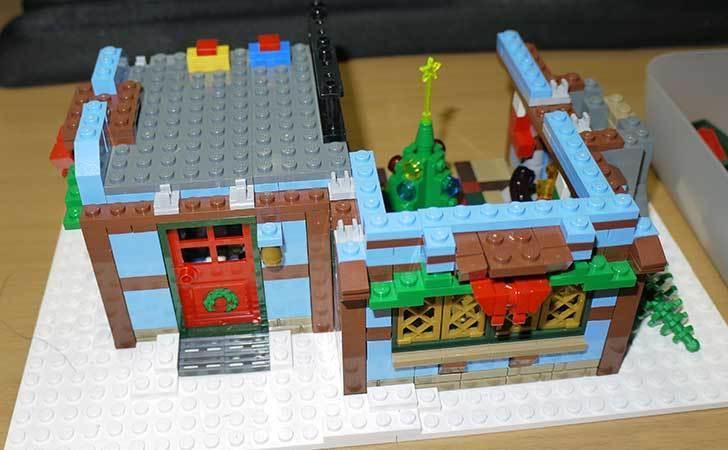 LEGO-10229-ウィンターコテージを作った5-2.jpg