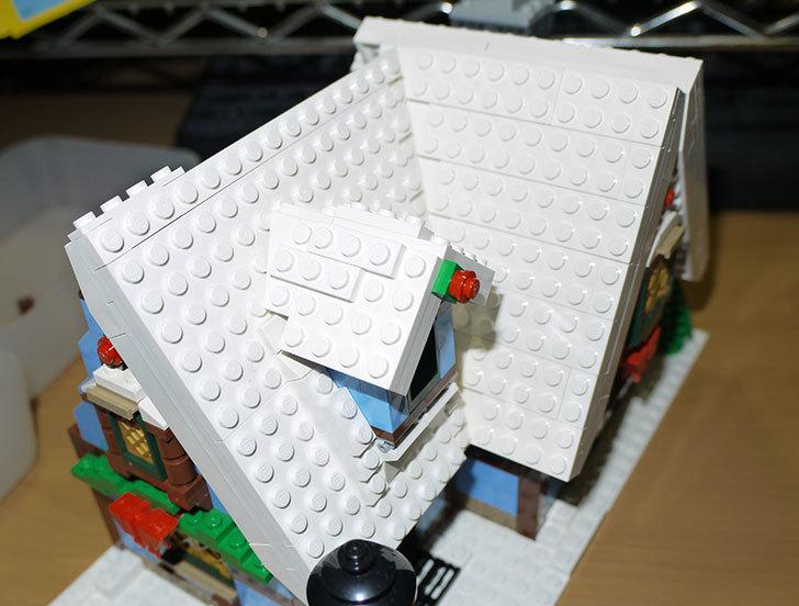 LEGO-10229-ウィンターコテージを作った6-1.jpg