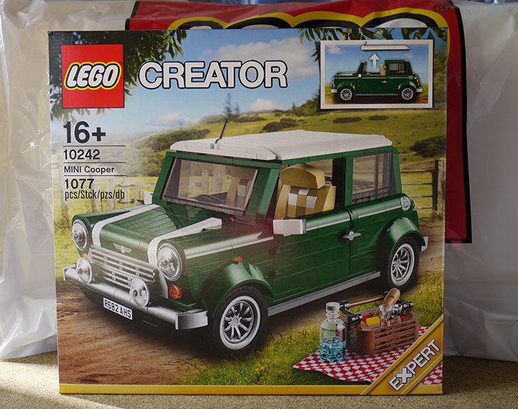 LEGO-10242-ミニクーパーをクリブリで買って来た1.jpg