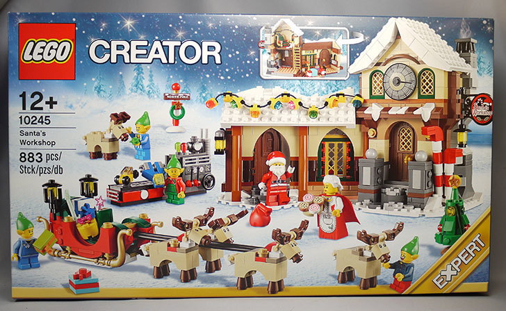 LEGO-10245-Santa's-Workshop-サンタのワークショップをクリブリで買って来た1.jpg