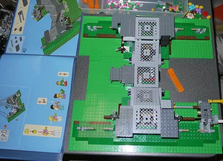 LEGO-10247-Ferris-Wheel-観覧車を作りはじめた3-3.jpg