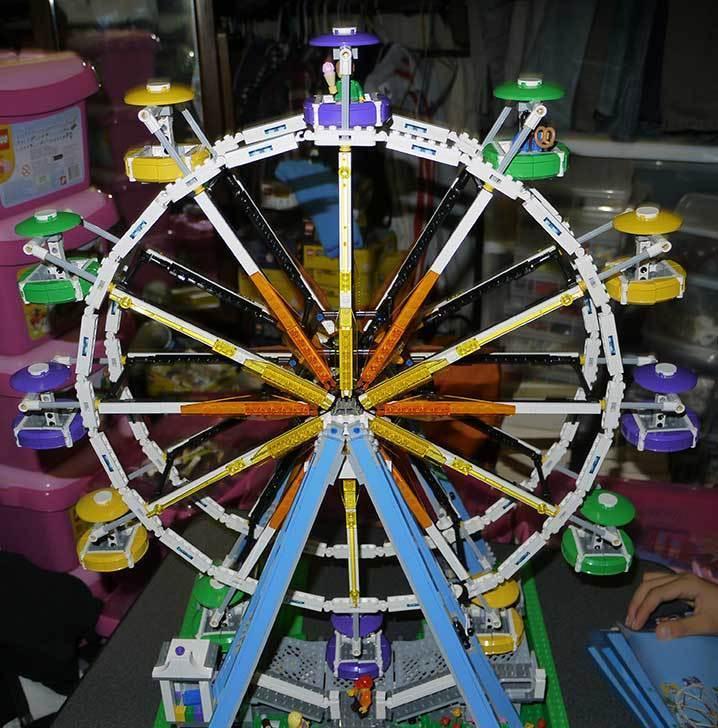 LEGO-10247-Ferris-Wheel-観覧車を作りはじめた5-19.jpg