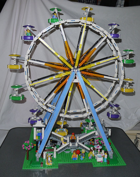 LEGO-10247-Ferris-Wheel-観覧車を作りはじめた6-1.jpg