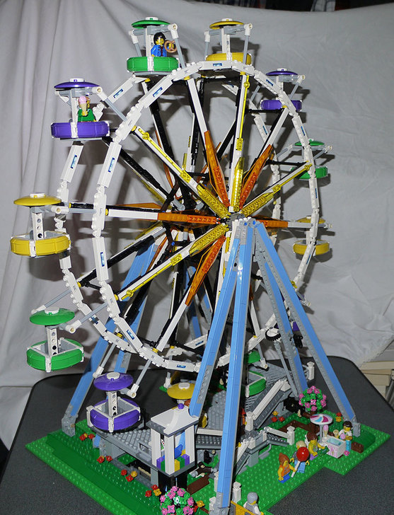 LEGO-10247-Ferris-Wheel-観覧車を作りはじめた6-2.jpg