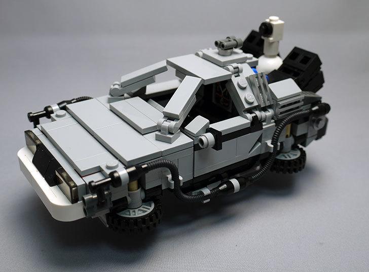 LEGO-21103-デロリアン・タイムマシンを作った2-1.jpg